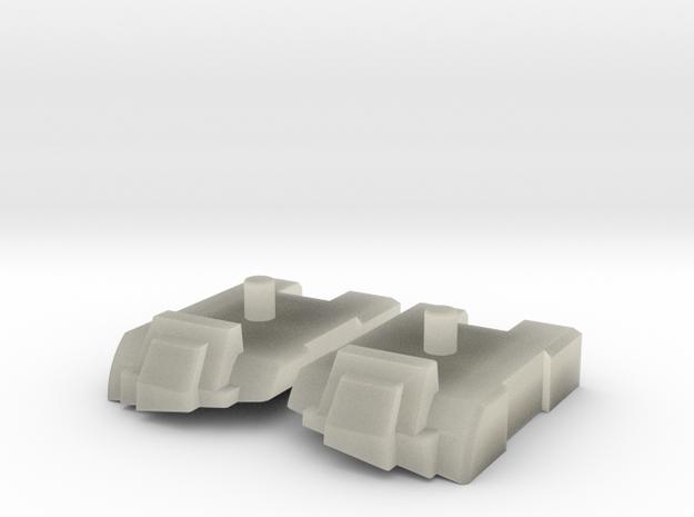 Feet set for Kabaya set 7 Superion 3d printed