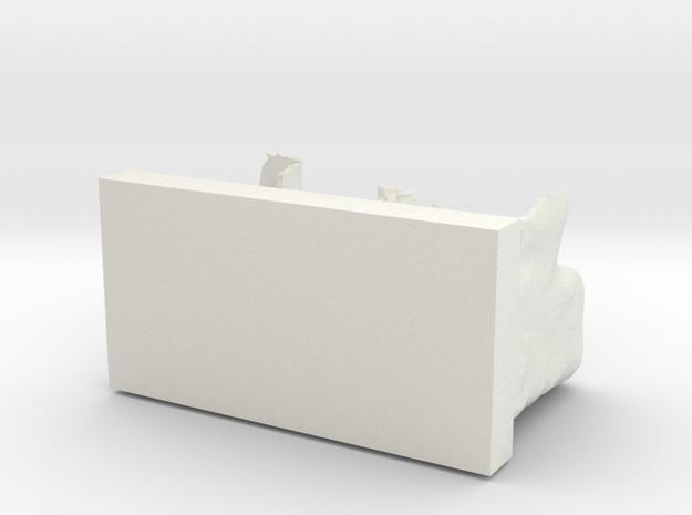 Escalierdomisocle in White Strong & Flexible