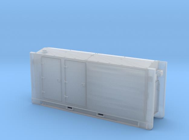 HFS-Pumpenmodul-mit glatten/gleichenbreiten Türen  in Frosted Ultra Detail
