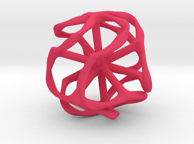 Dodecahedron Mesh 3d printed