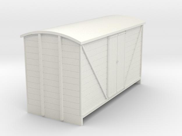 55n2 van large planked door  in White Natural Versatile Plastic