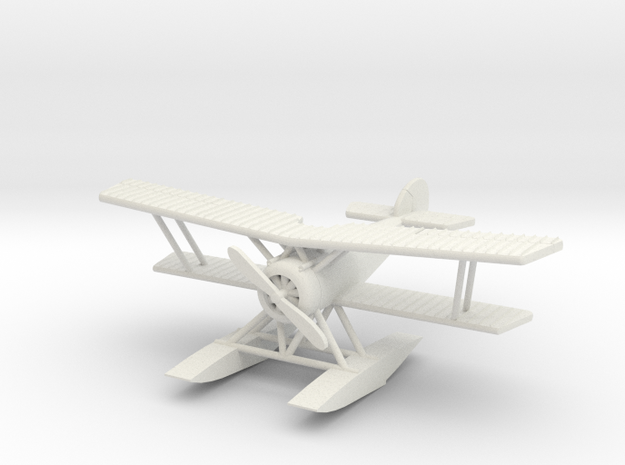 Hanriot HD.2 1:144th Scale in White Strong & Flexible