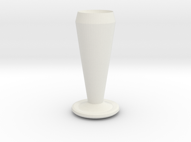 batman vase in White Natural Versatile Plastic