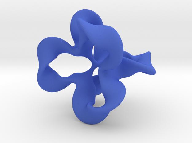Tetra Loops - large, fat 3d printed