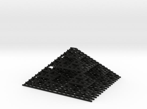 Sierpinski Pyramid   3d printed