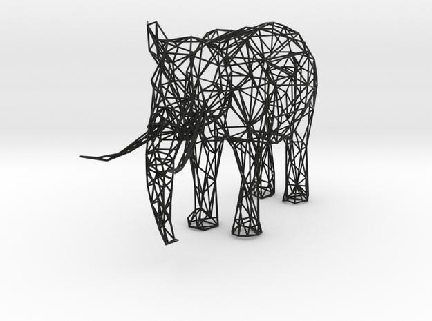 Digital Safari- Elephant (Large) 3d printed