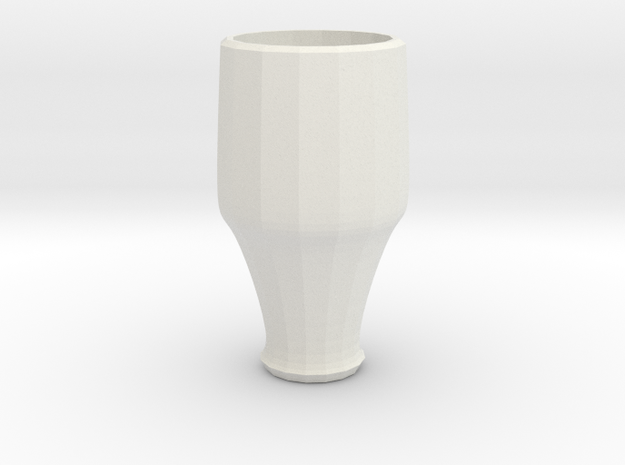 blue cap cup 3 in White Natural Versatile Plastic