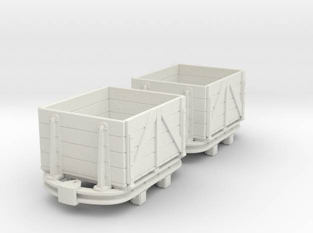 55n2 skip dropside box  in White Natural Versatile Plastic