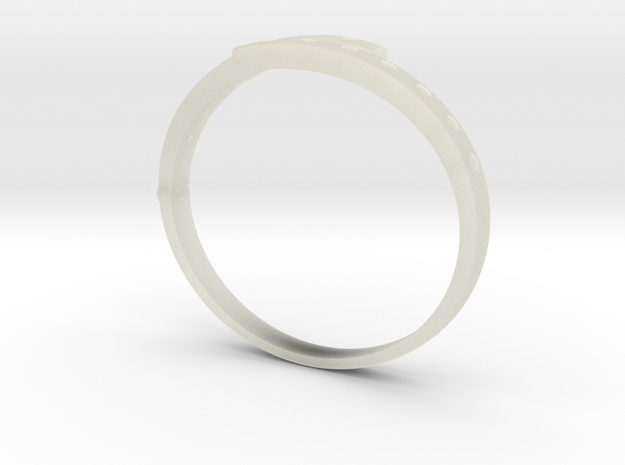Bangle in Transparent Acrylic