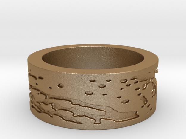 Beer Speak Ring Size 8 3d printed