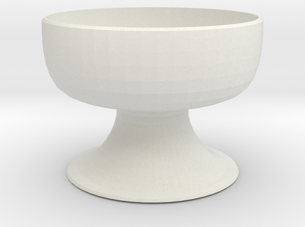Planter 3 in White Strong & Flexible