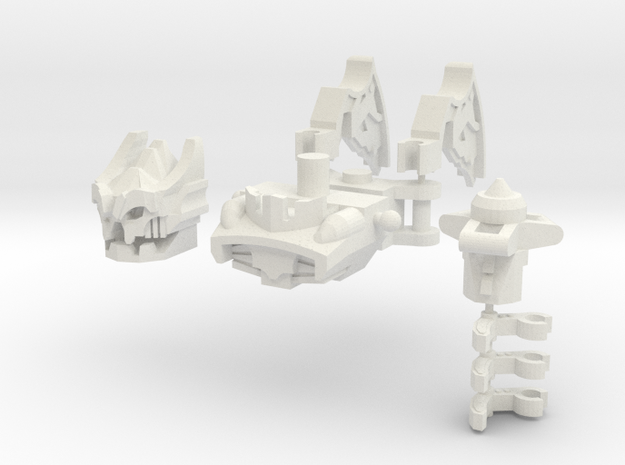Rippy Bot Upgrade Set in White Natural Versatile Plastic