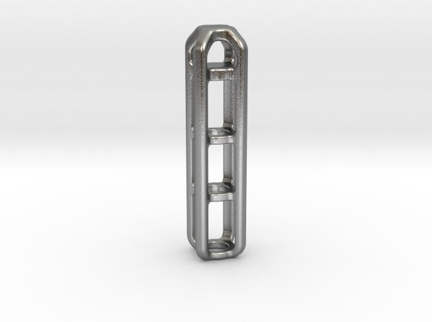 Tritium Lantern 4B (Silver/Brass/Plastic) 3d printed