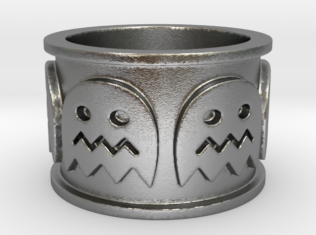 Pac-man inspired Ring Size 7 3d printed