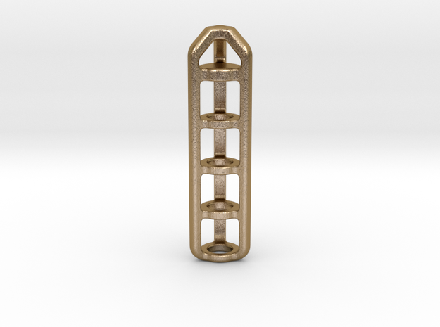 Tritium Lantern 4A (Stainless Steel) 3d printed