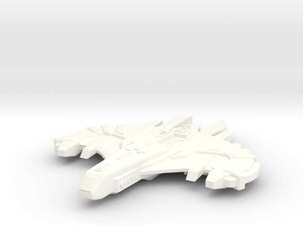 Malice Class Romulan Attack 3d printed