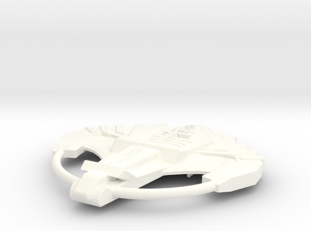 Venom Class Destroyer in White Processed Versatile Plastic