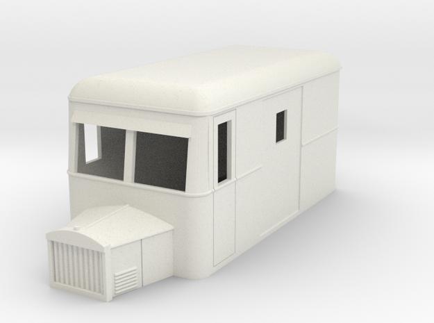 1:32/1:35 railbus 4w goods single end 3d printed