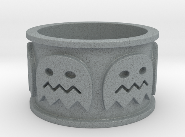 Pac-man inspired Ring Size 10 3d printed