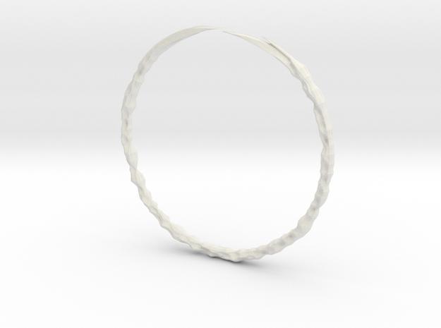 Lin Bracelet in White Strong & Flexible