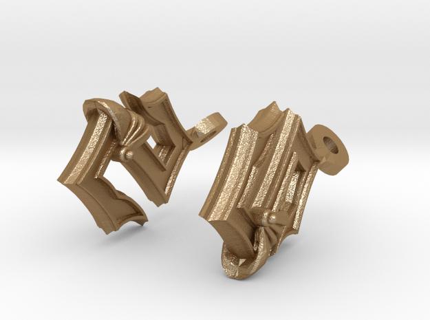 Sabaton Earrings 3d printed