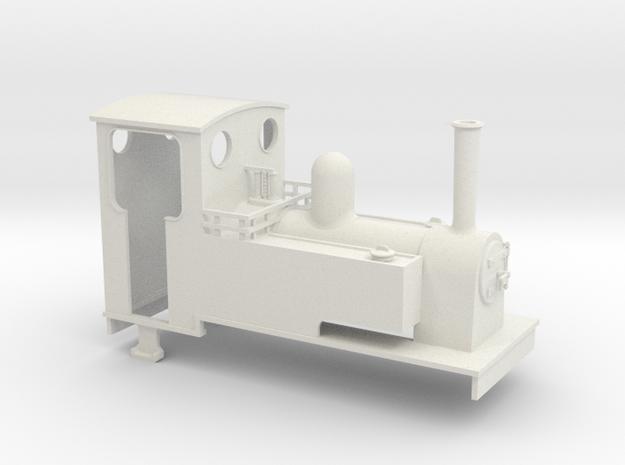 1:32/1:35 Long side tank loco 3d printed