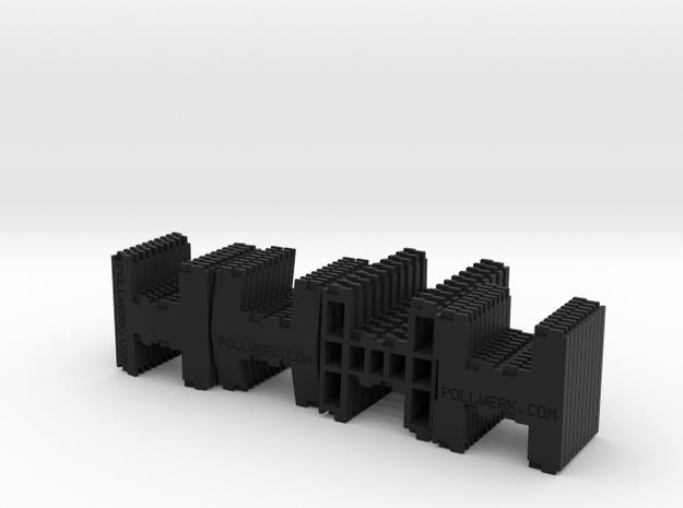 Pollwerk Modular Surface 4xMod Hs01 20131015 4x10= 3d printed