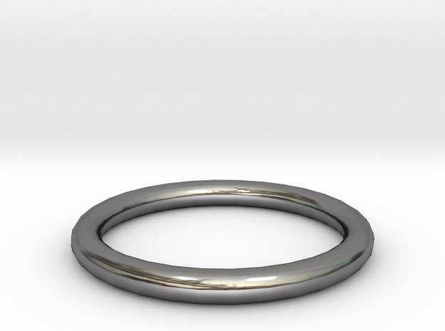 Shiny Bronze ring 3d printed