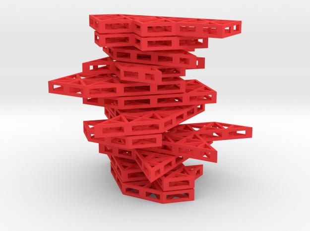 Ptarmigan Puzzle (Set D) 3d printed