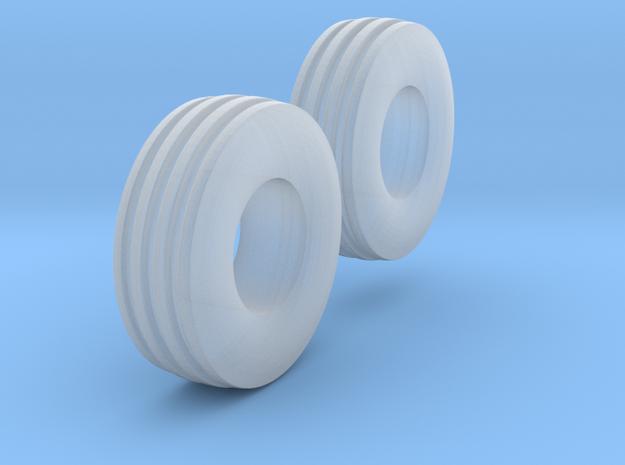 1:64 scale 11L-15 4 Rib Tires  3d printed
