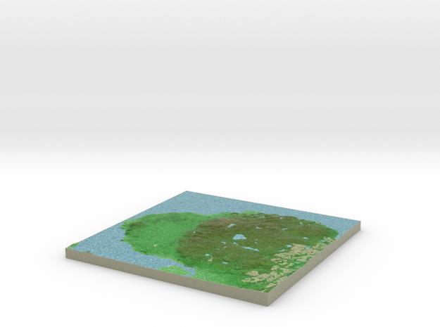 Terrafab generated model Mon Oct 28 2013 16:00:41 3d printed