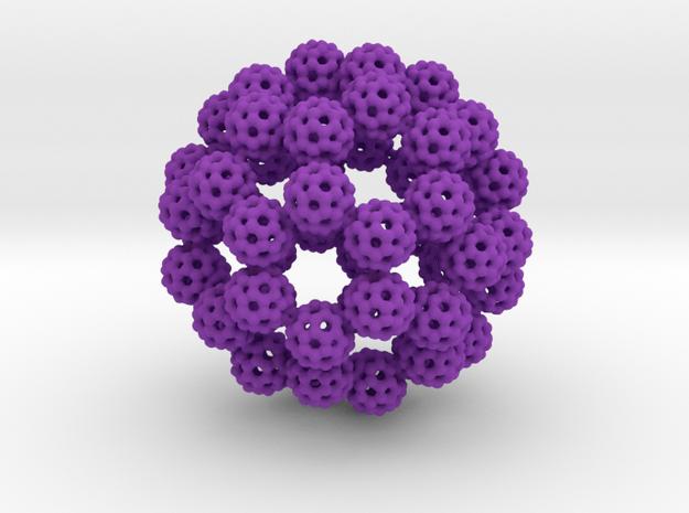 Fractal Fullerene 3d printed