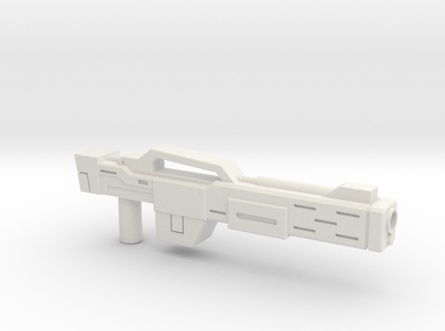 Rifle (Upscaled) in White Natural Versatile Plastic