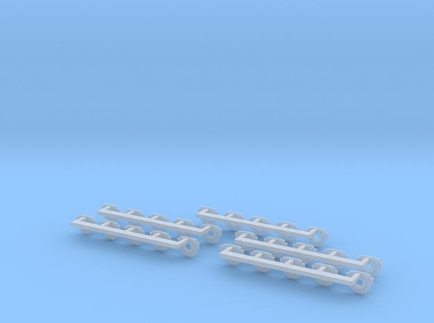 Galactica Gun Pad Assembly Set Of Twentyfive in Smooth Fine Detail Plastic