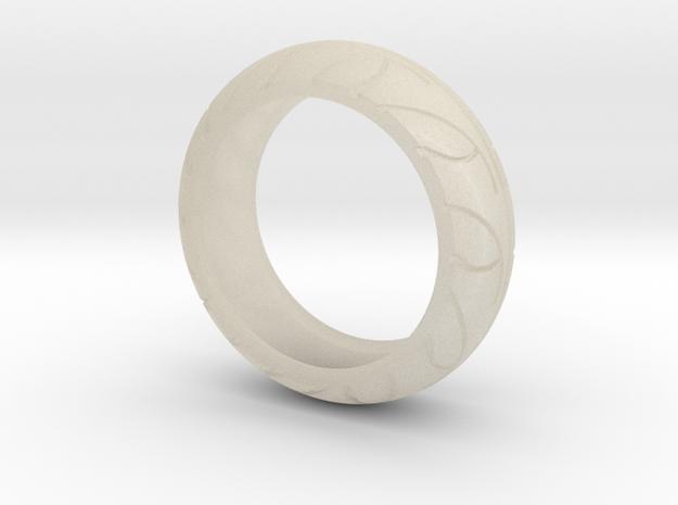 Street Bike Tread Ring Size 13 3d printed