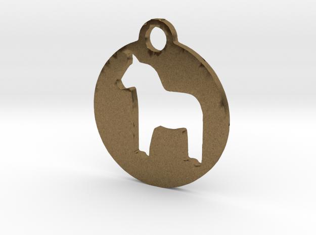 Darlecarlian Horse 3d printed