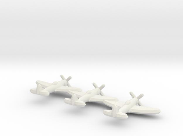 P-47D (Triplet) 1:900 3d printed
