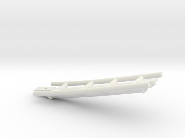 Looping Grün Schienenteil in White Strong & Flexible