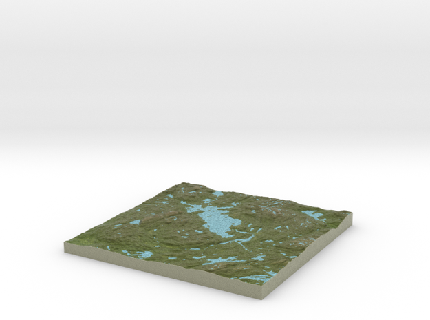 Terrafab generated model Sun Oct 27 2013 12:16:10 3d printed