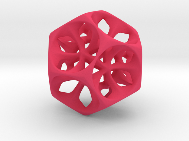 Dodecahedron XI, large  3d printed