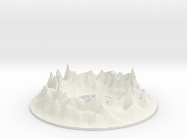 HoloDecks Peaks Colored 3d printed
