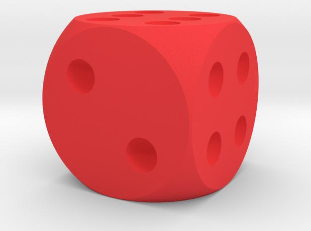 Simple D6 Dice 3d printed