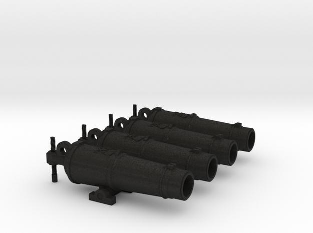 General Hunter Guns 4Up in Black Acrylic