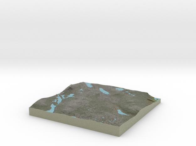 Terrafab generated model Wed Nov 06 2013 18:36:16  in Full Color Sandstone