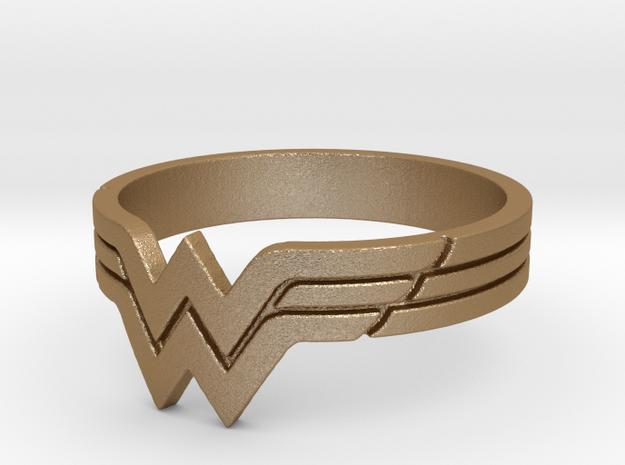 Wonder Woman Ring, Size 7 3d printed