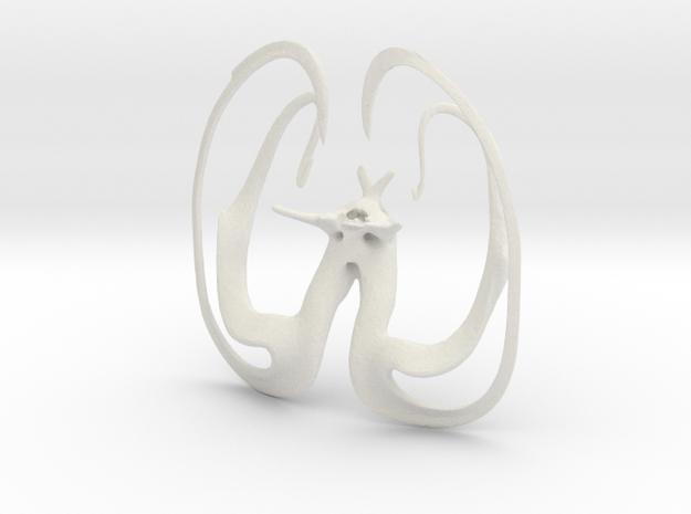 NeU ?rnyuszi in White Natural Versatile Plastic