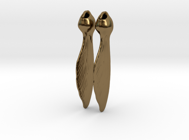 Whirlygig Seed pods 3d printed