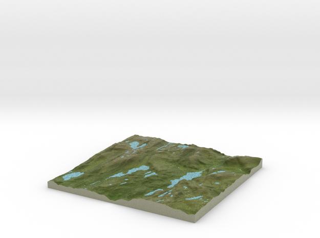 Terrafab generated model Mon Nov 11 2013 00:04:28 3d printed