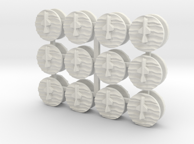 24xSSM Markers 3d printed