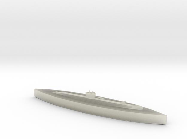 HMS Salmon 1:1800 3d printed